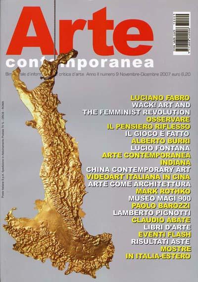 Articolo della rivista arte contemporanea sulla mostra di for Art e decoration rivista